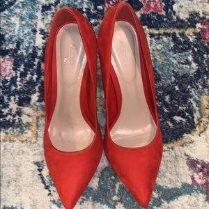 Red hot sexy ALDO heels